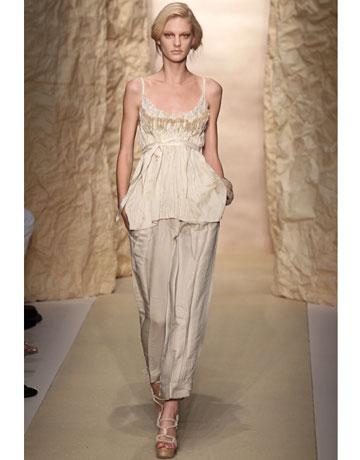 Donna Karan Pajama, harpersbazaar.com