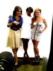 Yanil Flandez, Monroe Steele,Sahra of EffortlessyCool blog