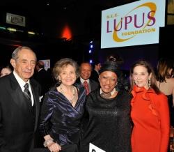 Governor Mario Cuomo & Mrs. Matilda Cuomo; opera legend Jessye Norman and Jennie DeScherer