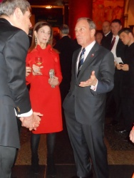 Mayor Bloomberg with Jennie DeScherer