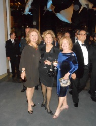 Judy Haber in Akris; Sandy Goldstein in Valentino; and Arlene Ettinger in Joe Fresh and Vera Wang
