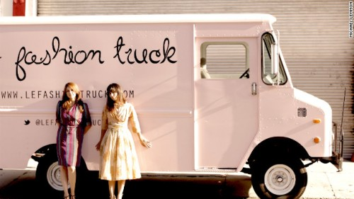chic fashion truck