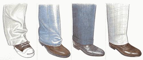Shoe Article Mens Pant Length 500