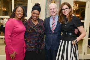 Michelle Gadsden-Williams, Jessye Norman, Tim Gunn, Desiree Gruber