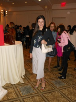 Lauren O'Steen Yetman from Ted Baker is wearing head-to-toe Ted Baker!!